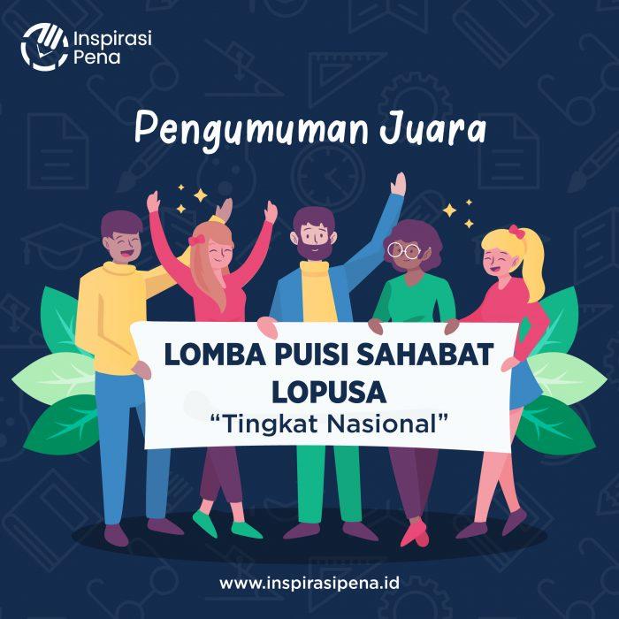 Poster Pengumuman Lopusa A1