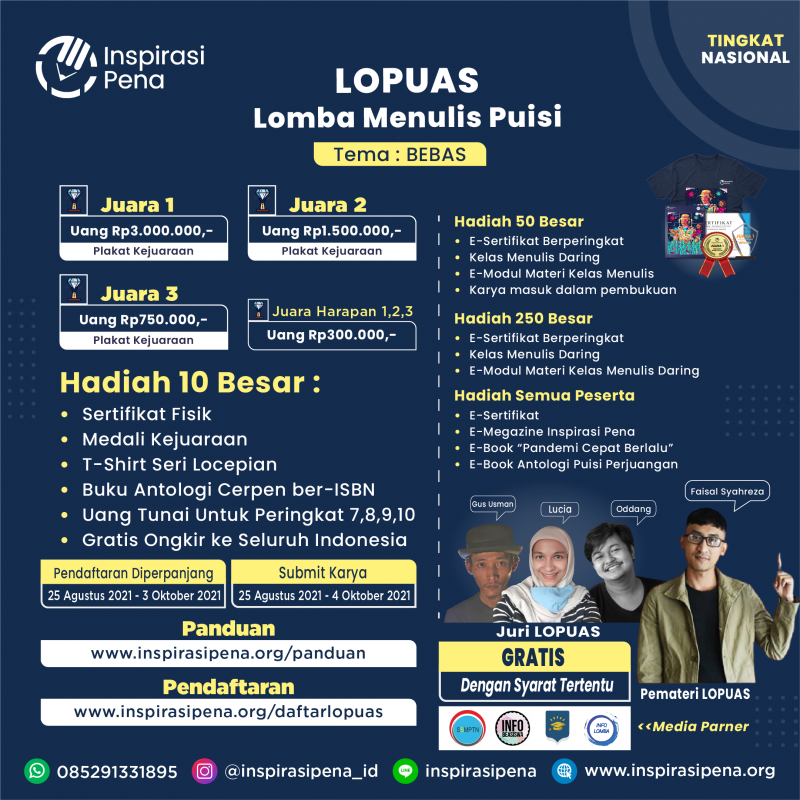 Poster Event 9 LOPUAS